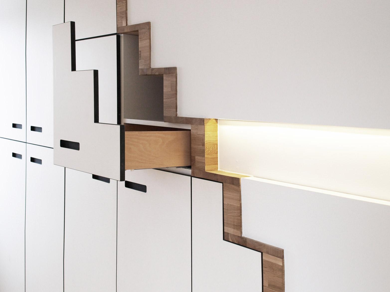 umbau wohnhaus in rahlstedt architektur m bel cattau. Black Bedroom Furniture Sets. Home Design Ideas