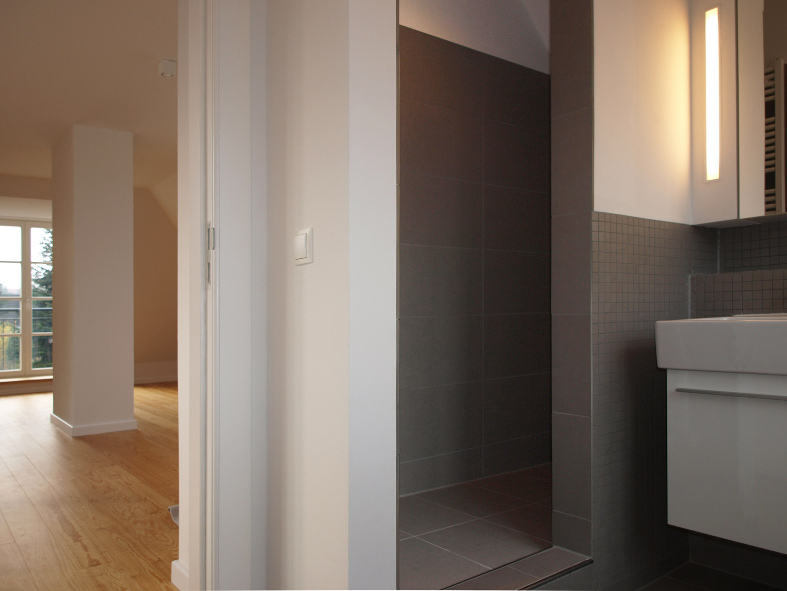 umbau erweiterung einer kaffeem hle architektur m bel cattau. Black Bedroom Furniture Sets. Home Design Ideas